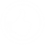 thumbs up icon white