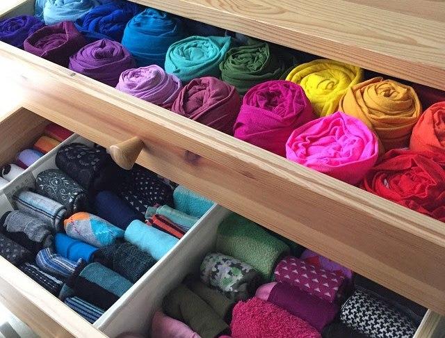 KonMari Sock Drawer