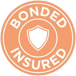 Bonded and insured home cleaners